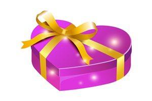 誕生日プレゼント ハート型 イラスト 無料 商用フリー
