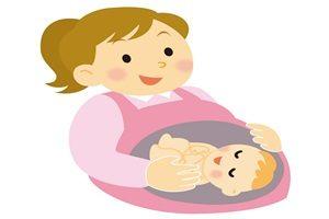 赤ちゃん イラスト お腹の中 生まれる前 無料 商用フリー