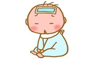 赤ちゃん イラスト 発熱 病気 無料 商用フリー