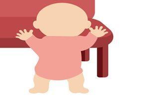 赤ちゃん イラスト 伝い歩き 無料 商用フリー