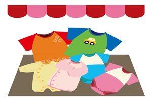 赤ちゃん 服 ベビー服 イラスト かわいい 無料 商用フリー