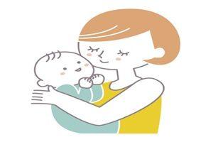 赤ちゃん イラスト 抱っこ かわいい 無料 商用フリー