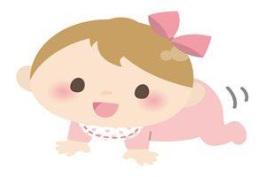 赤ちゃん 女の子 イラスト かわいい 無料 商用フリー
