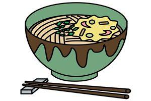 蕎麦 節分 食物 イラスト 無料 商用フリー
