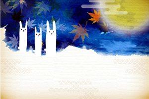 うさぎ イラスト 和風 背景 壁紙 フレーム 無料 商用フリー