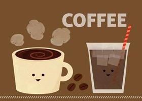 かわいいコーヒーのイラスト