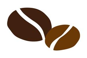 珈琲豆の無料イラスト素材