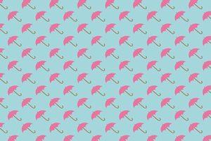 傘のイラストパターン